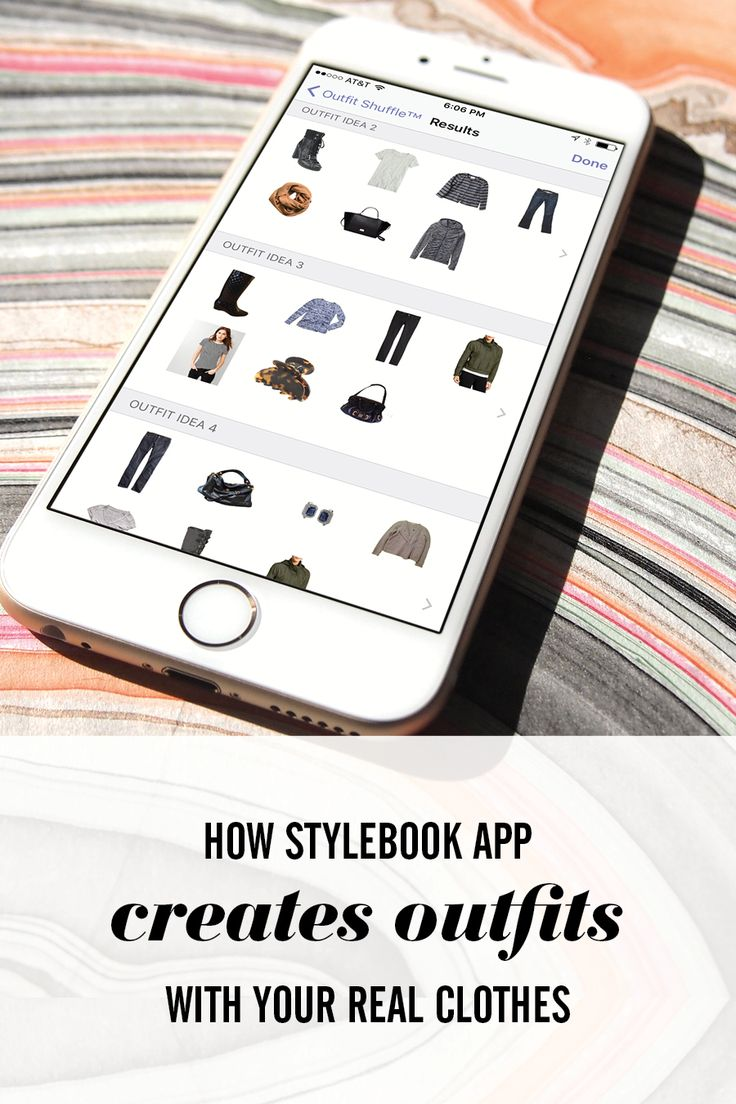 Get Inspired By The Clothes You Already Have By Letting Stylebook Make  Outfits For You!
