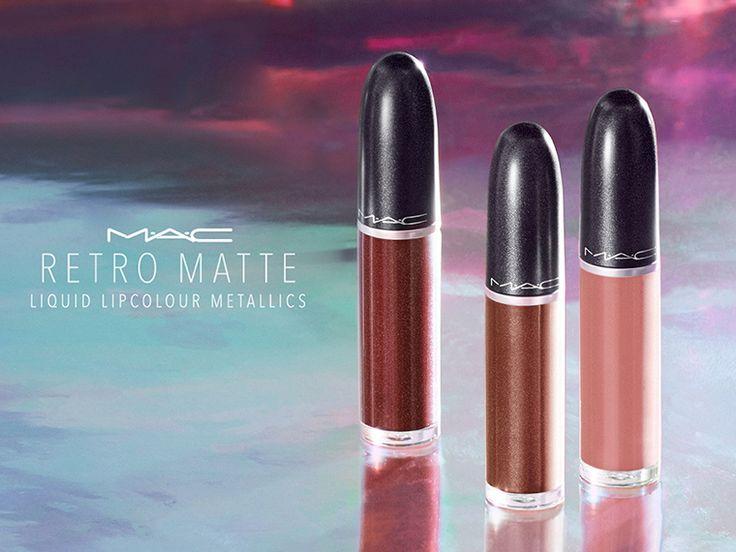 MAC Retro Matte Liquid Lipcolour Metallics for Holiday 2017