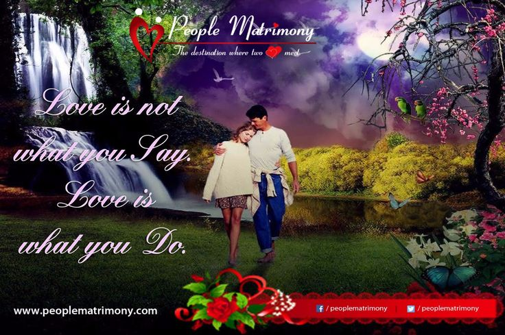 Love is not what you say, Love is what you do India's 1st 100 % Free Matrimonial Website Is Launching On 13th July 2015