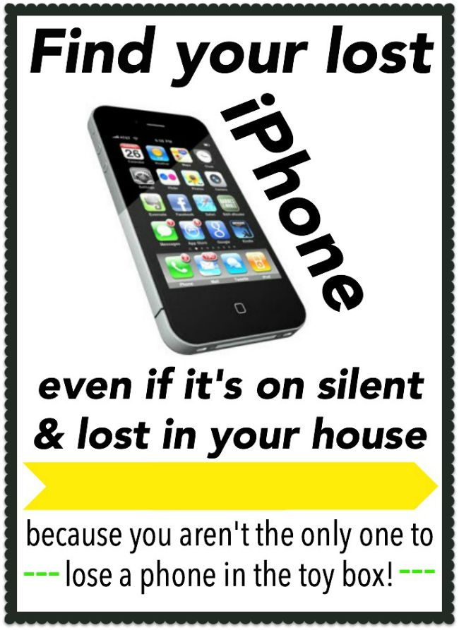 SUPPOSEDLY how to find an iPhone even if it's on silent (pinning now, checking later)
