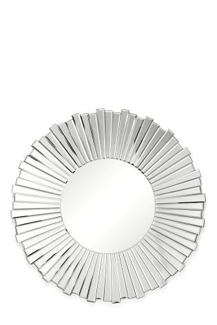 Buy Deco® Facet Wheel Mirror from the Next UK online shop