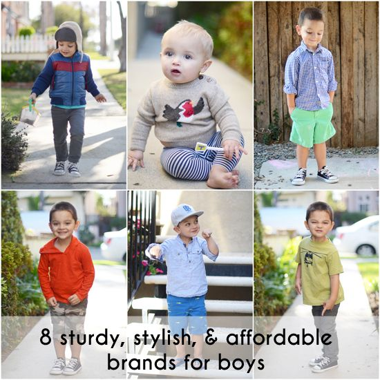 8 Sturdy, Stylish, and Affordable Clothing Brands for Boys