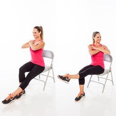 6 Seated Moves That Work Your Whole Body  -- Don't be fooled: This workout firms and burns much more than you'd think!