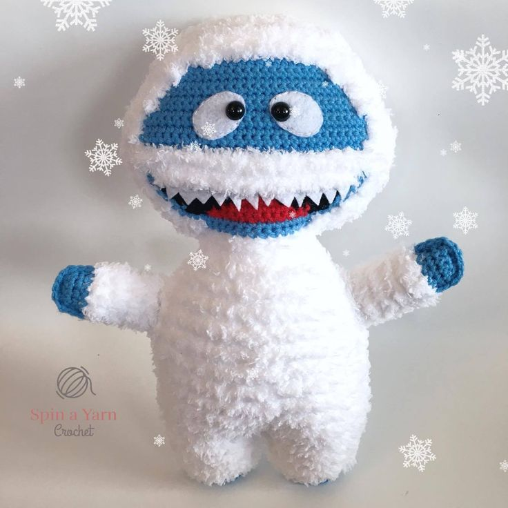 Bumble the Abominable Snowman - Free Crochet Pattern at Spin a Yarn Crochet