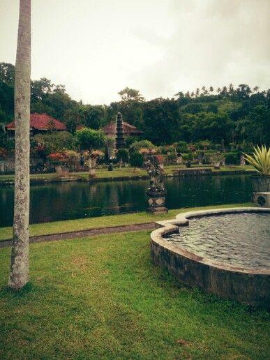 Water palace karang asem district