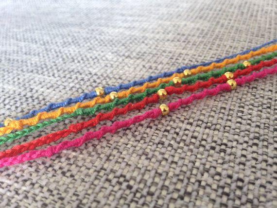 Raksha Bandhan  Handmade Rakhi Bracelet by RatanjiRani on Etsy, $4.50