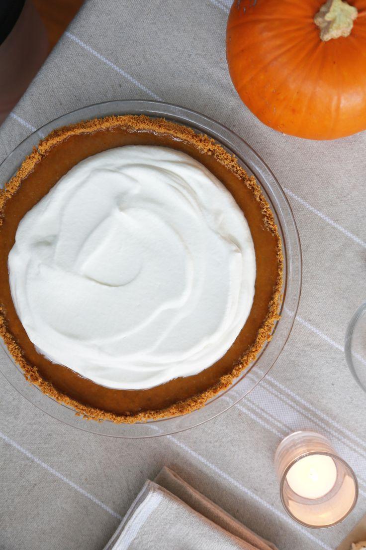Lazy Girl's Pumpkin Pie With Graham Cracker Crust