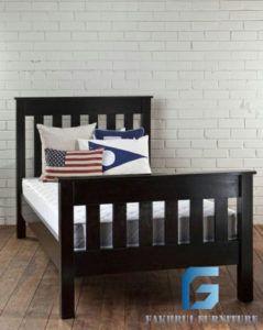 Tempat Tidur Anak Duco Hitam