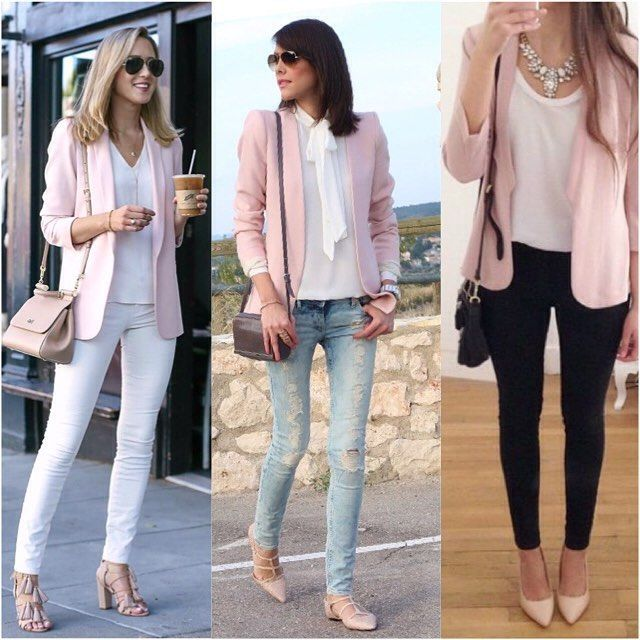 die besten 25 rosa blazer ideen auf pinterest rosa blazer outfits hei er rosa blazer und. Black Bedroom Furniture Sets. Home Design Ideas