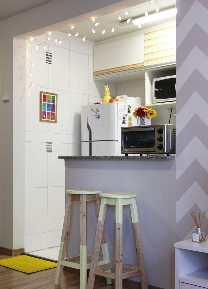 Casa de Pinterest: cozinha + lavanderia!