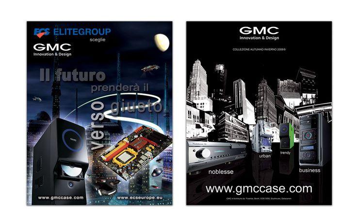 pubblicità GMC per carta stampata