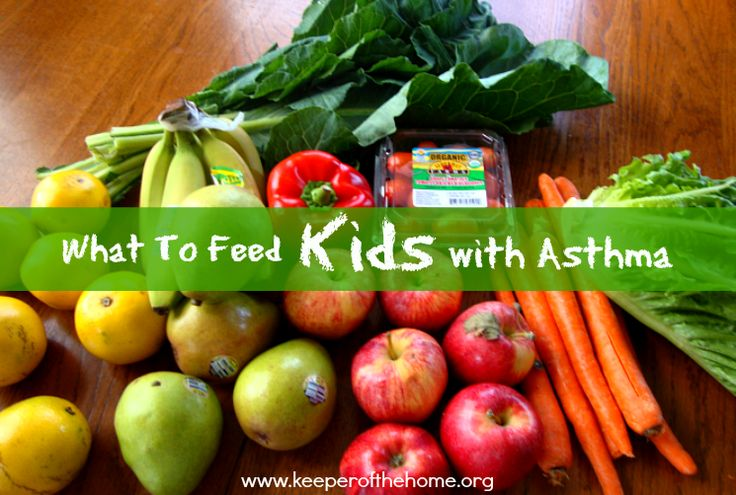 what to feed a child with asthma anti anflammatory meal