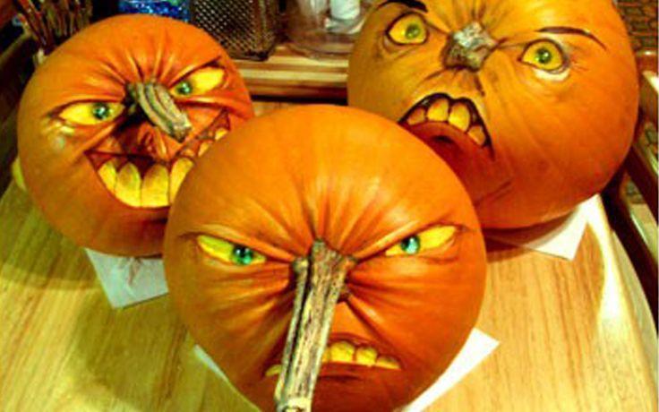 15 best Happy harvest images on Pinterest Halloween pumpkins - how to make pumpkin decorations for halloween