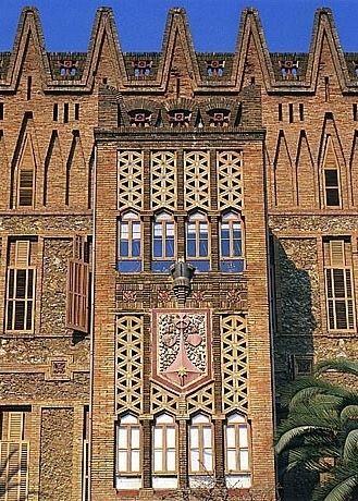 Colegio de las Teresianas. Antoni Gaudi, 1888-1890.
