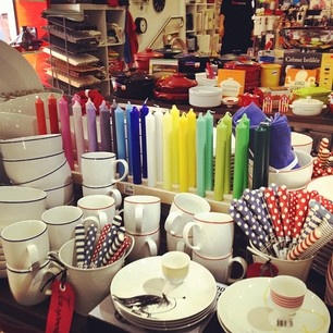 The Design Store in Mosman, Sydney - note: Dibbern candles