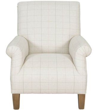 Ardingly Chair - Fabric / Colour: Orton Check Multi - Chairs