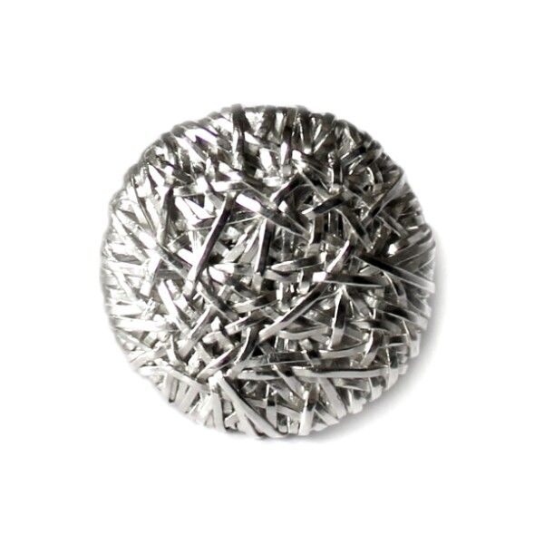 woven series disc ring handcrafted in silver by gurgel-segrillo
