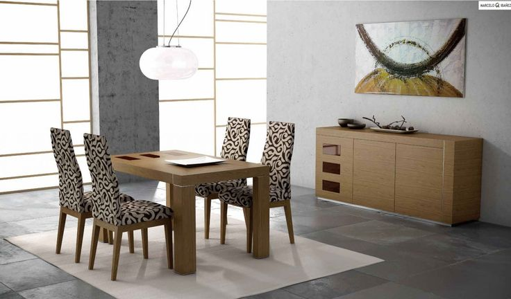 55+ Modern Dining Room Table Chairs - Modern Vintage Furniture Check more at http://www.ezeebreathe.com/modern-dining-room-table-chairs/