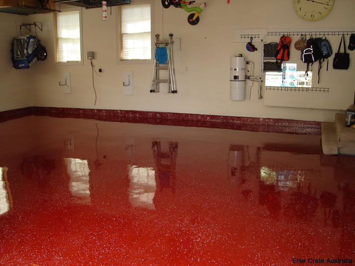 concrete floor treatment