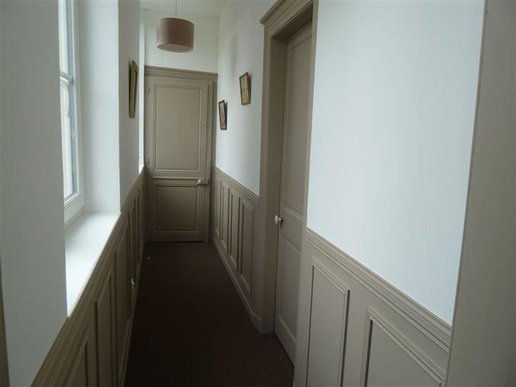 Les 15 meilleures images propos de couloir sur pinterest - Couleur porte interieure avec mur blanc ...