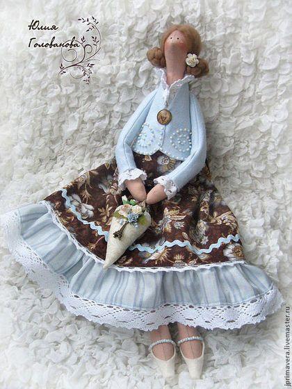 тильда, кукла тильда, тильда кукла, тильда ангел, тильда фея, ангел тильда, подарок на день рождения, купить тильду, подарок подруге, Юлия Голованова, Ярмарка мастеров