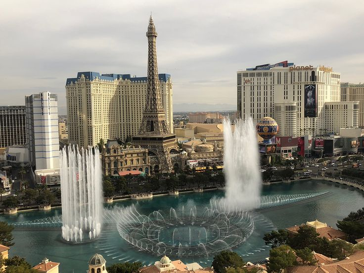 Hotel Review: Bellagio Fountain View Room Upgrade & Fountain Music Channel