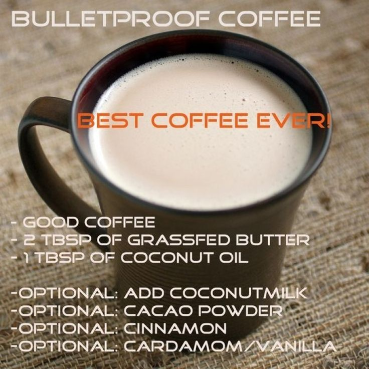 Bulletproof Coffee Recipe Will Get You Buzzing | Butter ...