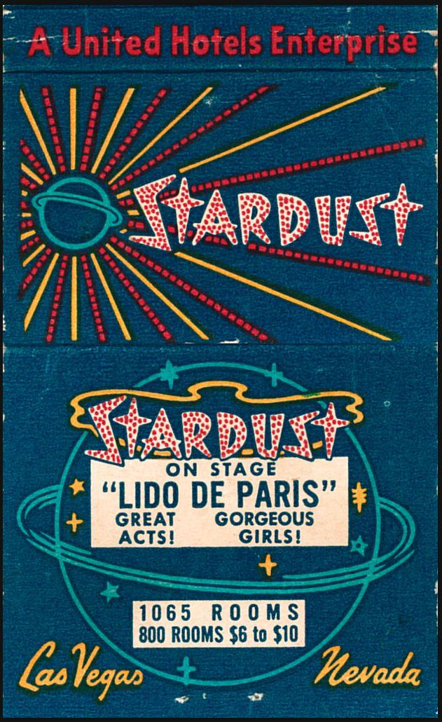 Vintage Stardust Hotel Casino in Las Vegas  Lido de Paris  $6 to $10 Rooms!