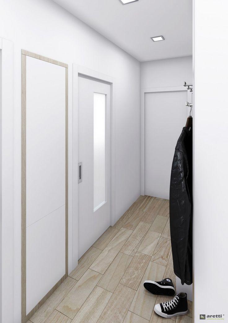 Reference » Návrh půdní vestavby pro mladý pár | Aretti - zakázkové interiéry a výroba nábytku Brno