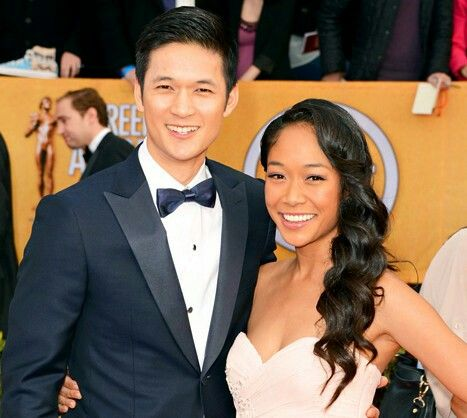 Harry Shum Jr & wife Shelby