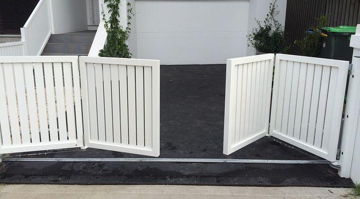 Bi Fold Gates Sfg Sydney Fences And Gates In 2019