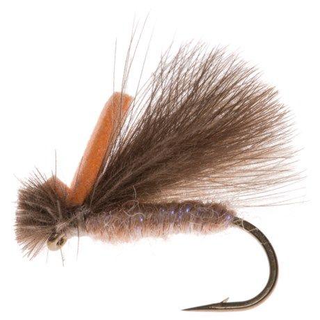 Montana Fly Company Jake's Hi-Vis CDC Caddis Dry Fly - in Uv Tan