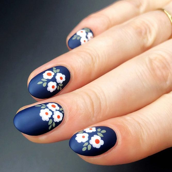 Image result for 6. flowers nail design