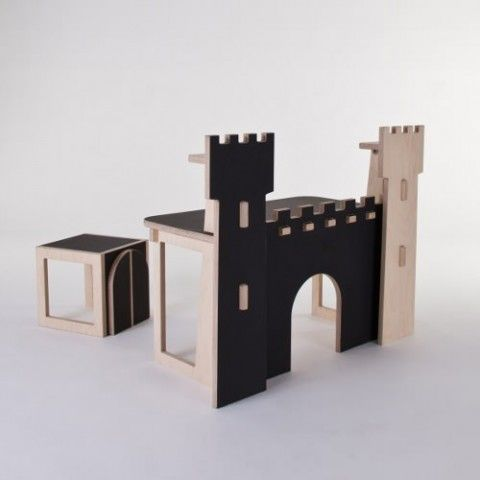 The Fortress is a fantastic children's desk, designed by At-once for L'EDITO