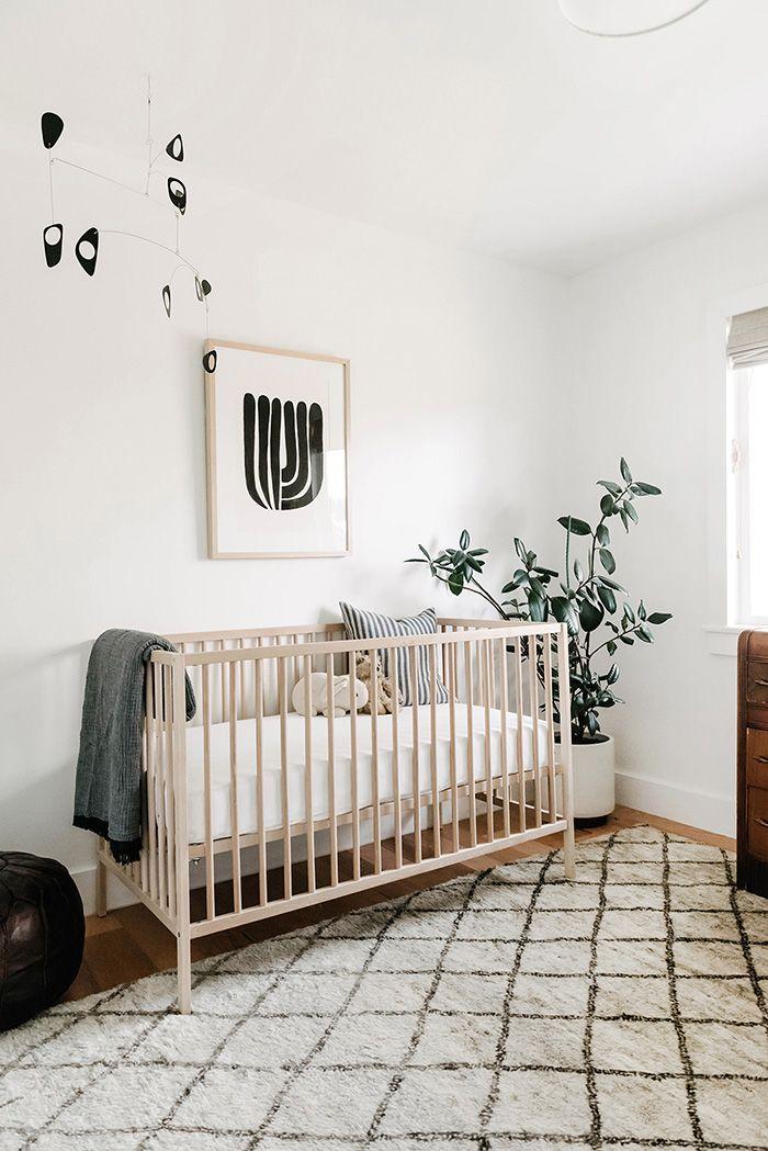 Spaces | The New | Stylish Nursery, Nursery Baby Room, Minimalist Nursery