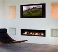 Modern Fireplace Design Ideas modern design idea for two sided corner fireplace living room Contemporary Fireplace Designs