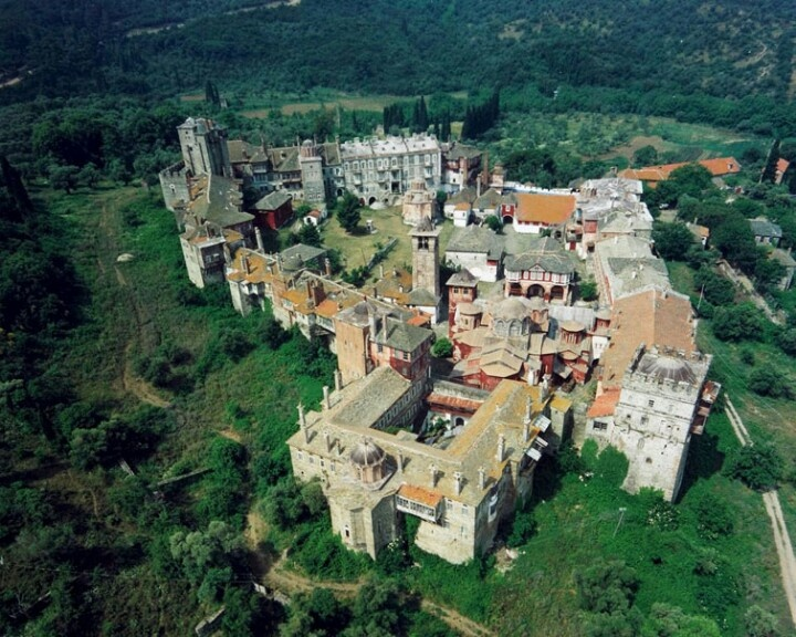 Monasterio vatopediou 2° monte athos