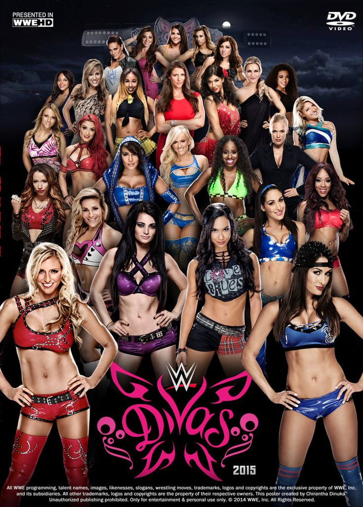 WWE Divas Poster by Chirantha on DeviantArt
