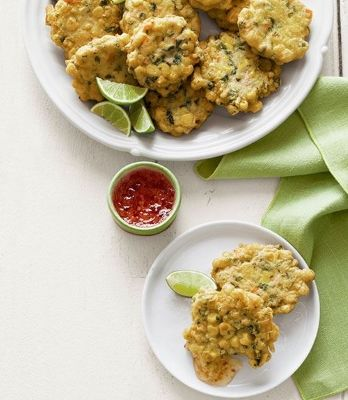 fritters delish crispy fritters fritters recipe corn fritters fritters ...