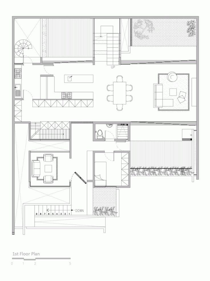 Lumber Shaped-Box House / Atelier Riri