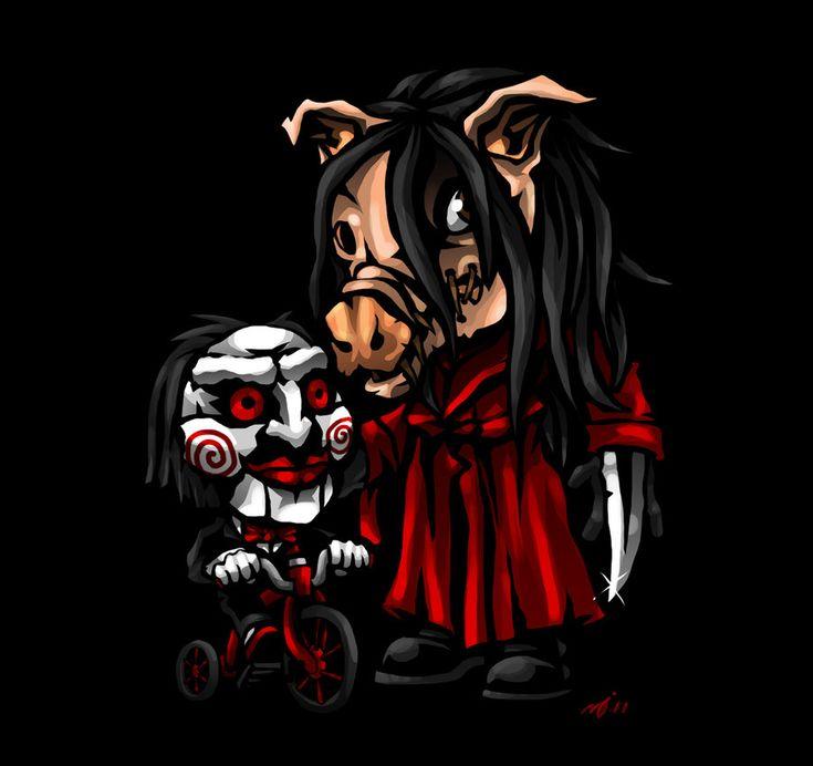 SD Pigface and Billy by DeTinteyLengua.deviantart.com on @deviantART