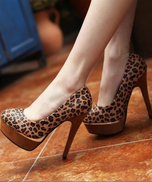 Фото леопардовые туфли