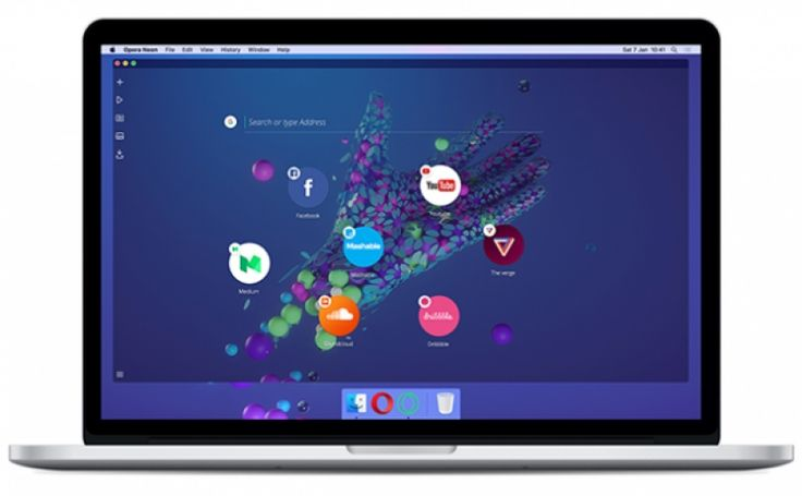 Opera Neon envisions the future of web browsers