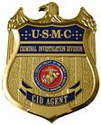 USMC CID badge. United States Marine Corps Criminal Investigation Division (USMC C.I.D.) is a federal law enforcement agency that investigates crimes against persons and property within the United States Marine Corps.