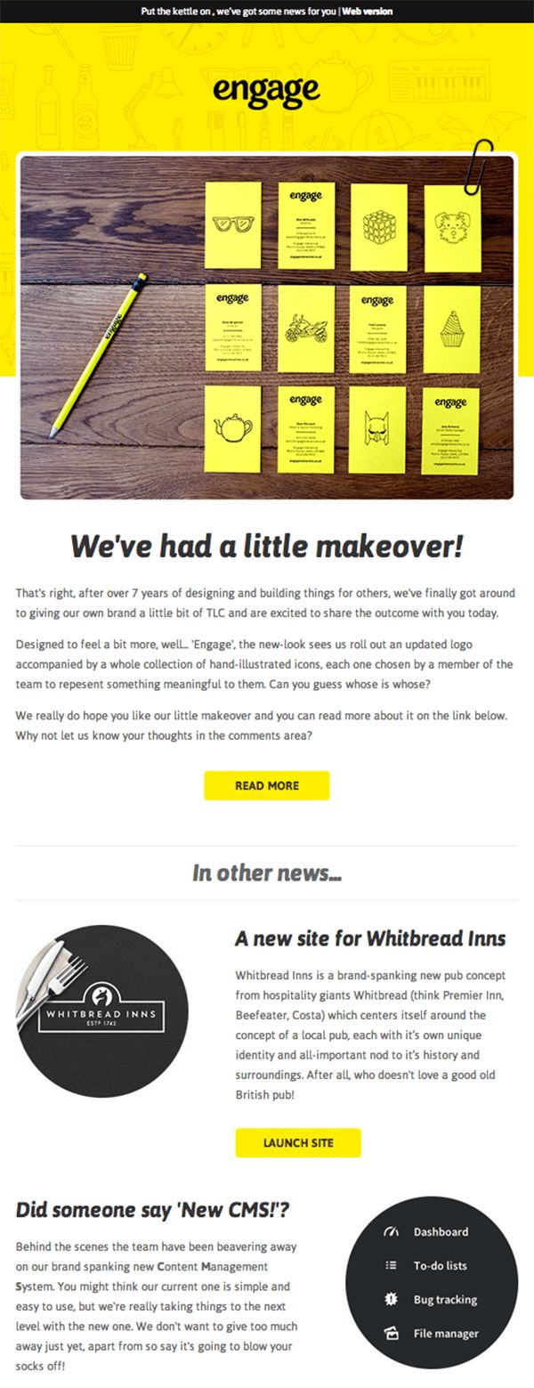 Best Email Design Images On   Email Newsletter