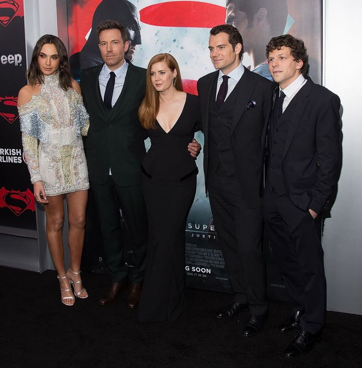 The 'Batman v Superman' cast