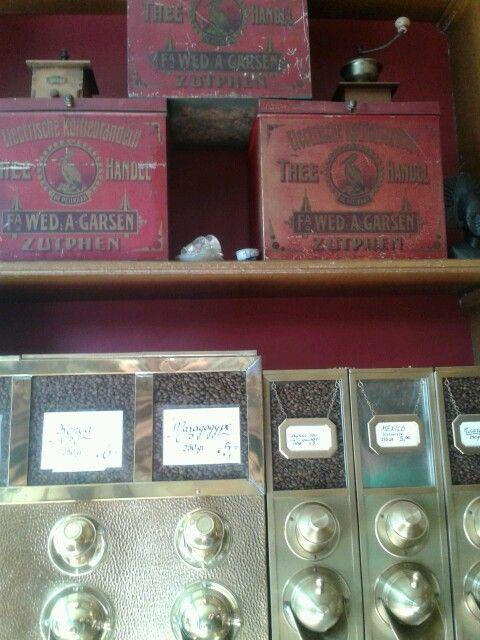 Koffie winkel in Zutphen