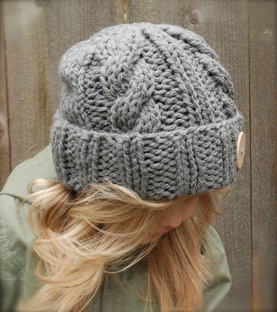 Ravelry: Beckett Hat pattern by Heidi May