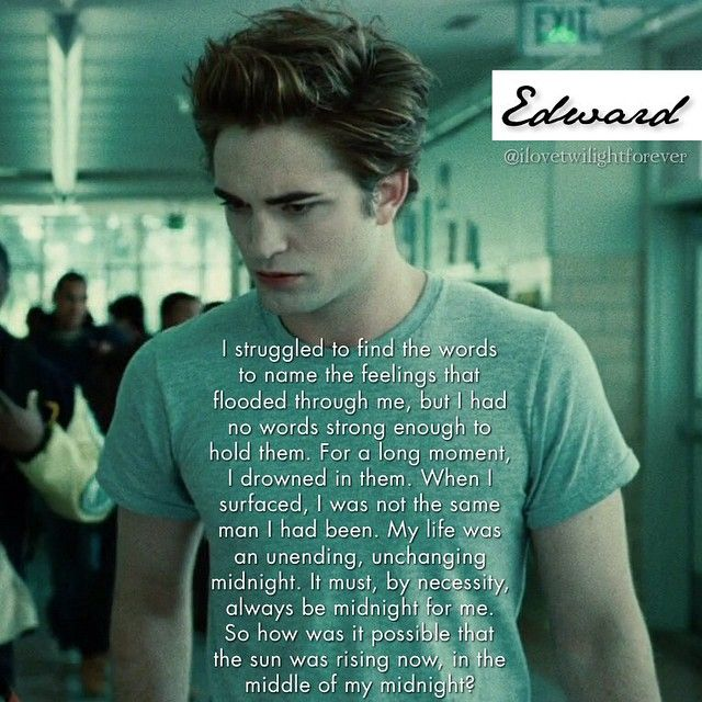 breaking dawn edwards pov My overriding thought when i was reading breaking dawn was that it  and  one will be the totally fanfic of twilight retold from edward's pov.