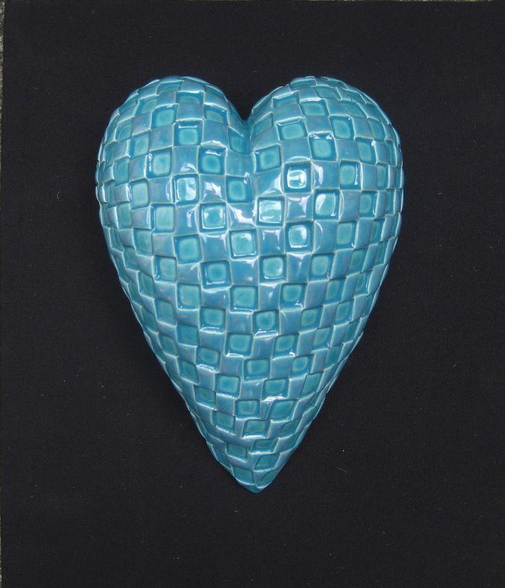 Keramikkhjerter…  